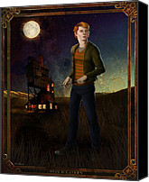 Hills Canvas Prints - Ron Weasley 8x10 Print Canvas Print by Christopher Ables
