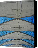 Bayern Canvas Prints - Roof Structure ... Canvas Print by Juergen Weiss
