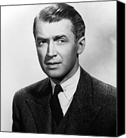 1948 Movies Canvas Prints - Rope, James Stewart, 1948 Canvas Print by Everett