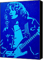 The King Canvas Prints - Rory Gallagher Canvas Print by John  Nolan