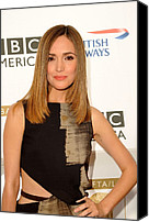 Tea Party Photo Canvas Prints - Rose Byrne In Gucci At Arrivals For 8th Canvas Print by Everett