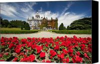 Manor Canvas Prints - Rose garden of Adare Manor Ireland Canvas Print by Pierre Leclerc