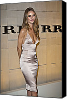 Half-length Canvas Prints - Rosie Huntington-whiteley At Arrivals Canvas Print by Everett