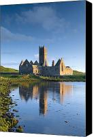 Monasticism Canvas Prints - Rosserk Friary, Co Mayo, Ireland 15th Canvas Print by Gareth McCormack