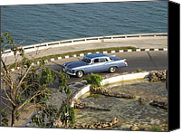 Cienfuegos Canvas Prints - Roundabout Canvas Print by Stav Stavit Zagron