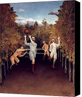 Football Canvas Prints - Rousseau: Football, 1908 Canvas Print by Granger