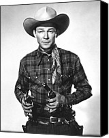 Publicity Shot Canvas Prints - Roy Rogers, Ca 1950 Canvas Print by Everett