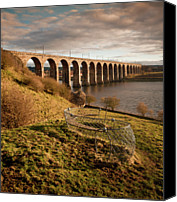 Arch Bridge Canvas Prints - Royal Border Bridge, Berwick-upon-tweed Canvas Print by David Tait