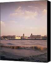 Naval College Canvas Prints - Royal Naval College in Greenwich in London in the UK Canvas Print by Shaun Higson