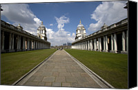 Naval College Canvas Prints - Royal Naval College Canvas Print by Lonely Planet