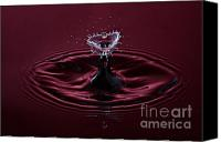 Splashes Canvas Prints - Rubies and Diamonds Canvas Print by Susan Candelario