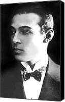 Publicity Shot Canvas Prints - Rudolph Valentino, Ca 1921 Canvas Print by Everett