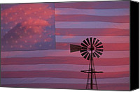 Fine Photography Art Canvas Prints - Rural America Canvas Print by James Bo Insogna