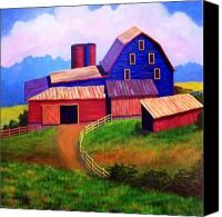 Barn Canvas Prints - Rural Reverie Canvas Print by Hugh Harris