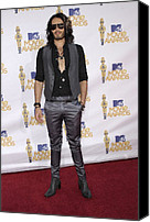 Mtv Canvas Prints - Russell Brand At Arrivals For 2010 Mtv Canvas Print by Everett