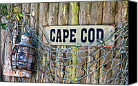 Cape Cod Scenery Canvas Prints - Rustic Cape Cod Canvas Print by Bill  Wakeley
