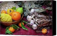 Feed Canvas Prints - Rustic Still-life Canvas Print by Carlos Caetano