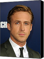 Half-length Canvas Prints - Ryan Gosling At Arrivals For The Ides Canvas Print by Everett