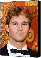 Golden Globe Canvas Prints - Ryan Kwanten At The After-party For Hbo Canvas Print by Everett