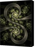 Fractal Canvas Prints - S Curve Canvas Print by David April