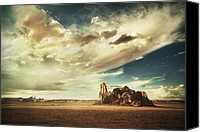 Formation Special Promotions - Sacred Land Canvas Print by Stuart Deacon