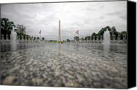 Washington Dc Canvas Prints - Sacrifice Canvas Print by Mitch Cat