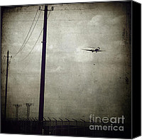Power Lines Canvas Prints - Sad Goodbyes Canvas Print by Trish Mistric
