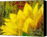 Flower Photograph Canvas Prints - Saffron Dream Canvas Print by Ann Powell