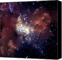 Blackhole Canvas Prints - Sagittarius A, X-ray Image Canvas Print by Nasa