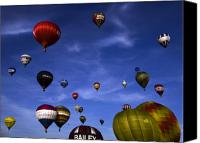 Balloon Fiesta Canvas Prints - Sail away with me hunny.... Canvas Print by Angel  Tarantella