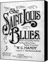 Saint Louis Canvas Prints - Saint Louis Blues, Aka St. Louis Blues Canvas Print by Everett