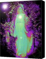 Queen Of Heaven Canvas Prints - Saint Mary No. 02 Canvas Print by Ramon Labusch