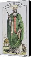 4th Canvas Prints - SAINT NICHOLAS (4th CENTURY) Canvas Print by Granger