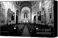 Azoren Canvas Prints - Saint Peter church Canvas Print by Gaspar Avila