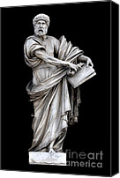Still Life Sculpture Photo Canvas Prints - Saint Peter Canvas Print by Fabrizio Troiani
