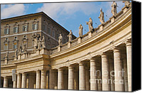 Michaelangelo Canvas Prints - Saint Peters Basilica Canvas Print by Andy Dean