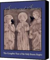 Empire Painting Canvas Prints - Saints and Sinners... Canvas Print by Will Bullas