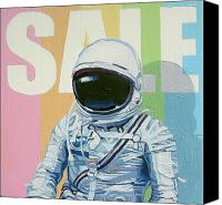 Science Painting Canvas Prints - Sale Canvas Print by Scott Listfield