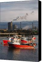 Responsibility Canvas Prints - Saltburn, Teesside, England Boats Canvas Print by John Short