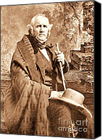 1861 Canvas Prints - Sam Houston Canvas Print by Pg Reproductions