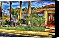Clemente Digital Art Canvas Prints - San Clemente Estate 3 Canvas Print by Kathy Tarochione