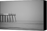 San Clemente Canvas Prints - San Clemente Pier Canvas Print by Ralf Kaiser