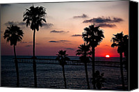 Clemente Photo Canvas Prints - San Clemente Canvas Print by Ralf Kaiser