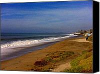 Clemente Canvas Prints - San Clemente Saturday Canvas Print by Tracy Evans