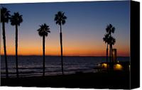 Clemente Canvas Prints - San Clemente Sunset Canvas Print by Ty Nichols