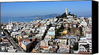 Road Travel Canvas Prints - San Francisco Canvas Print by Luiz Felipe Castro