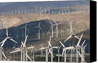 Clarence Holmes Canvas Prints - San Gorgonio Pass Wind Farm I Canvas Print by Clarence Holmes