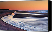 Assateague Canvas Prints - Sand And Surf II Canvas Print by Steven Ainsworth