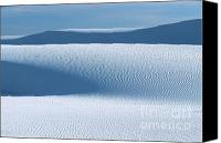 Featured Photo Canvas Prints - Sand Patterns Canvas Print by Sandra Bronstein