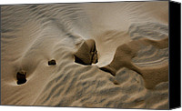 Kelso Canvas Prints - Sand Texture at Kelso Canvas Print by Chris Brannen